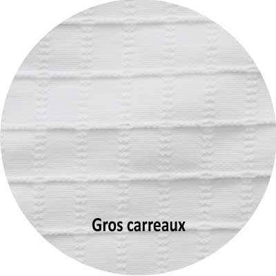CRAVATE TRADITIONNELLE FEMME GROS CARREAUX